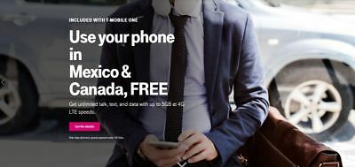 1st & 2nd Month Preloaded T-Mobile $75 Unlimited 4G & $50 10GB SIM Cards 7