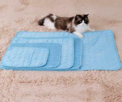 Dog Cooling Mat Pet Ice Pad Teddy Mattress Cat Cushion Summer Keep Cool Bed Gel 7