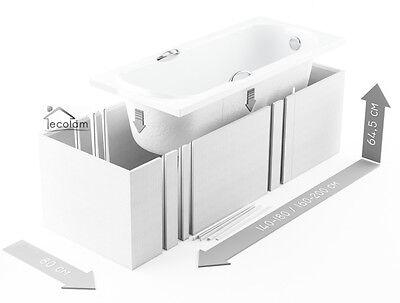styroportr ger wannentr ger badewanne fliesen 120 200 x 70 75 80 cm universell eur 159 00. Black Bedroom Furniture Sets. Home Design Ideas