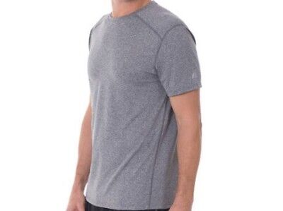 12803bc8ce6e3 ... Russell Athletic Men s Dry Power 360 Crew Neck T-Shirt - Grey - Sizes S