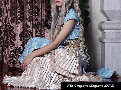 Trono Regina Vestito Carnevale Donna Throne Queen Dress up Woman Costumes GTH003 2