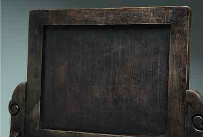 Chinese Qing Dynasty Wooden Screen 硯屏 /  KENBYO / W 25× H 26.5 [ cm ] 901g 8