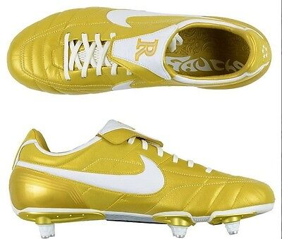 d362f00aaf0 ... Nike Air Legend Ronaldinho  Tiempo Gold R10 soccer cleats boots football   NEW 3