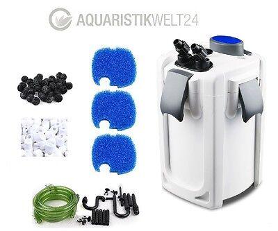 Aquarium Außenfilter Hw-702-704A/B UVC Klärer 400-1000l Becken Filtermaterial 2