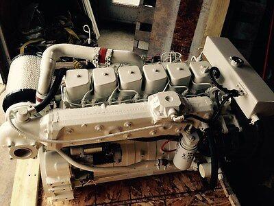 REBUILT - CUMMINS Marine 6Bt Diesel 210 Hp Engine - Usa Shipping Available