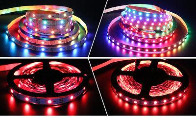 1m 5m 5V WS2812B 5050 RGB 30/60LEDs/M LED Strip ws2812 IC Individual Addressable 2
