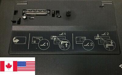 Lenovo Thinkpad 4338 Mini Dock Plus Series 3 75Y5730 W/ Adapter 2