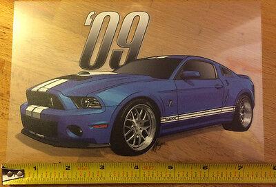 2009 Shelby Cobra Mustang GT500 Vinyl Sticker