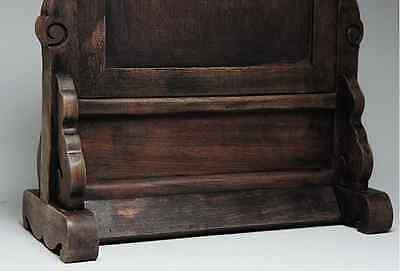 Chinese Qing Dynasty Wooden Screen 硯屏 /  KENBYO / W 25× H 26.5 [ cm ] 901g 7