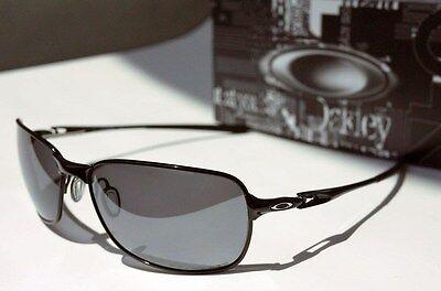 2f1194ff15 ... NEW Oakley Polarized C-Wire - Polished Black   Black Iridium Polarized  OO4046-01