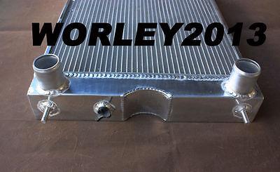 56mm aluminum radiator for Ford 2N / 8N / 9N tractor w/flathead V8 engine Manual