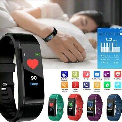 Smart Watch Activity Fitness Bracelet Blue 3