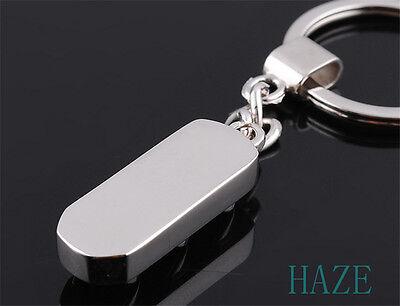 New Mini Traffic Light Car Key Ring Chain Classic 3D Keyfob Keychain Ring Gifts 4