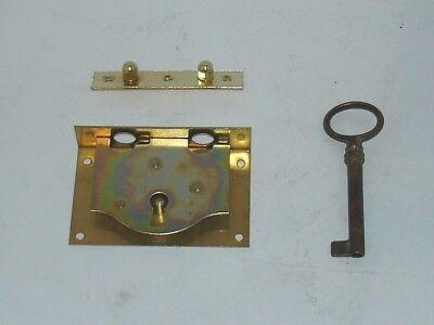 Truhenband, Truhengriff, Schlüsselschild und Schloß - Set 6 teilig 4