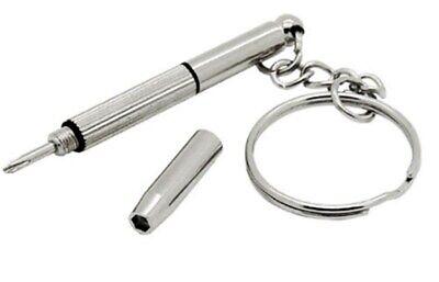 InLine® Mini Brillen-Schraubendreher-Set für den Schlüsselbund