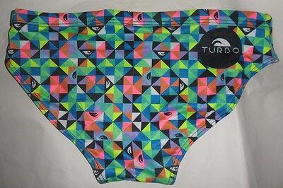 aaeb4853462a ... Costume da bagno slip tecnico uomo mare piscina TURBO Swimsuit Origami 2
