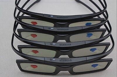 Lot of 6 New Samsung 4K HD UHD SUHD 3D Active TV Glasses SSG-5150GB SSG-5100GB