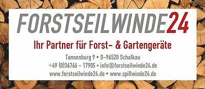 EDER Spillwinde Powerwinch SET// ESW 1200 Motorwinde,Benzinwinde Forstseilwinde