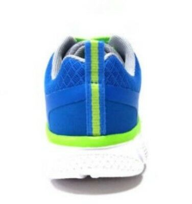 Athletic Works Youth Boys/' Gray//Lime Athletic Lightweight Sneakers//Shoes 12-6
