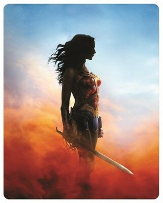 Wonder Woman 3D (4000 ONLY HMV Exclusive Limited Ed Blu-ray Steelbook) [UK 4
