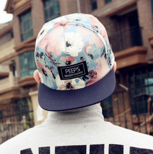 77d01f9b4d4e64 8 of 12 Fashion Men's Snapback Adjustable Baseball Cap Hip Hop hat Cool  Floral Print 9 of 12 ...