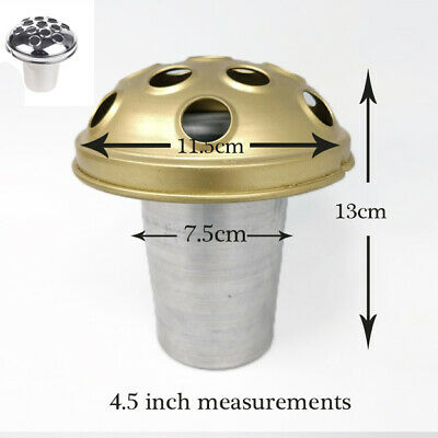 Metal & Plastic Grave Pot Replacment Part Dome Crem Vase Pots Headstone Insert 5