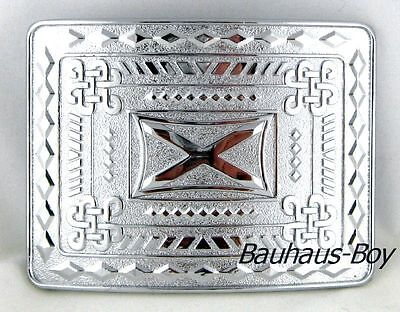 Scottish Saltire St Andrew Kilt Buckle Chrome Finish Highland Kiltwear For Kilts 2