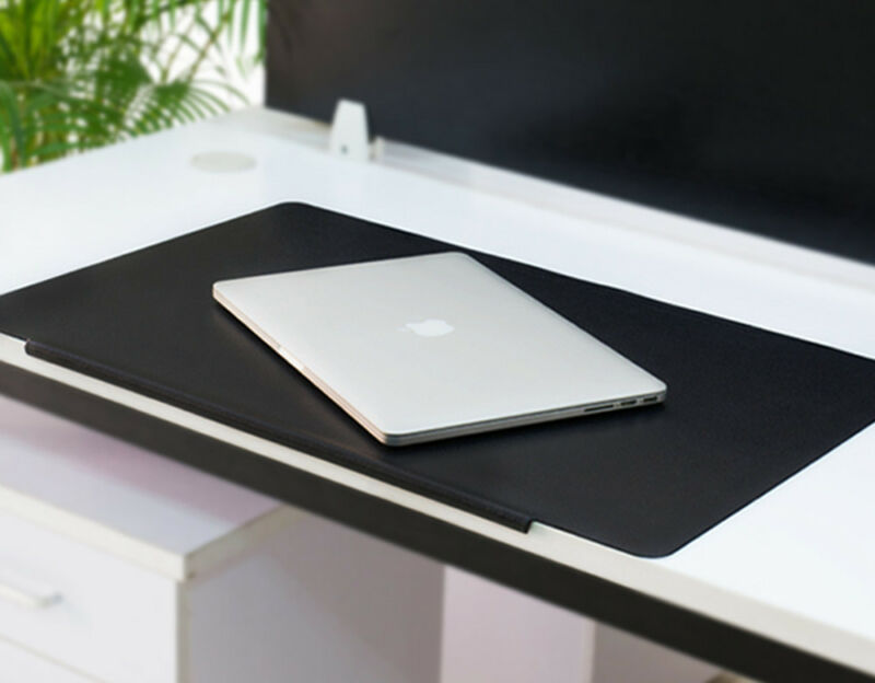 Large Pvc Leather Mouse Pad Non Slip Desk Mat Protector Keyboard Uk
