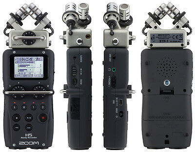 Zoom H5 Portable Professional Media Audio Recorder 2