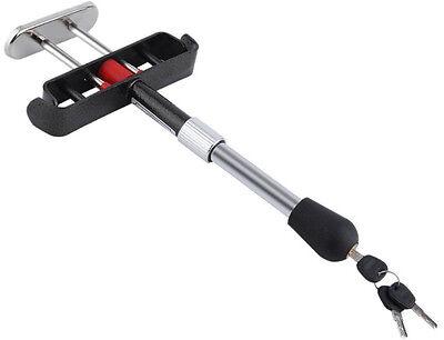 Car Van Brake Clutch Foot Pedal Security Anti Theft Adjustable Clamp Lock AC67 3