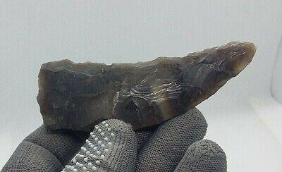 Rare Cucuteni-Trypillian culture Neolithic Tool Stone Sickle Knife 5200-3500BC#6 5