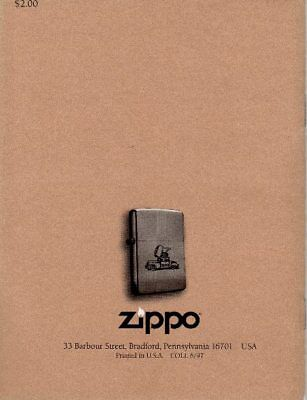 Reference 1st Edition 65th Anniversary The Zippo Lighter Collectors/' Guide
