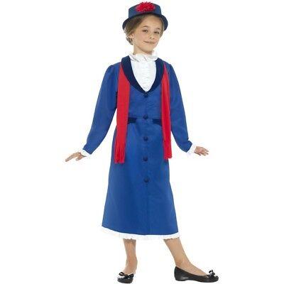 BAMBINO VITTORIANO Povero Ragazze Bambini Vestito Costume Età 4-14