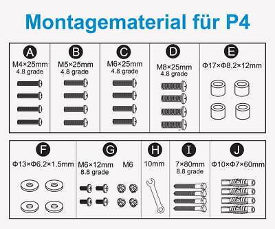 P4 Monitor TV Wandhalterung Wandhalter Halter drehbar 32-55 schwenkbar kipbar 6