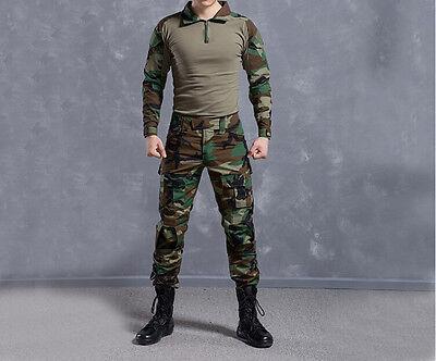 TYPHON Gen3 G3 Combat Traje Camiseta Pantalón Tácticos Airsoft Uniforme OPS SWAT Kryptek
