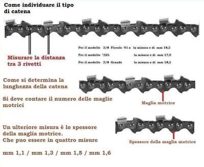 "Catene LIMA 3//8 P /""catena per Stihl 018 ms180 MS 180"