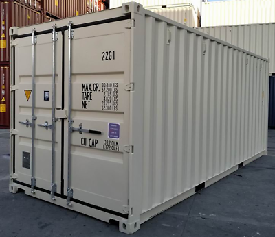 New Shipping Container / 20ft HC One Trip Shipping Container in Detroit, MI 6