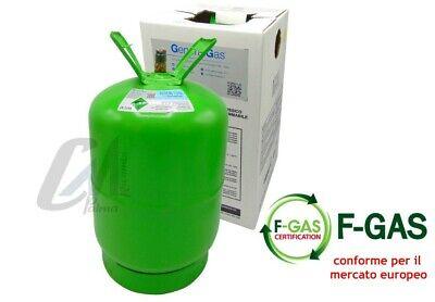 Bombola Gas Refrigerante Condizionatori R134A Da 12 / 2,5 / 0,9 Kg Conforme Eu 5