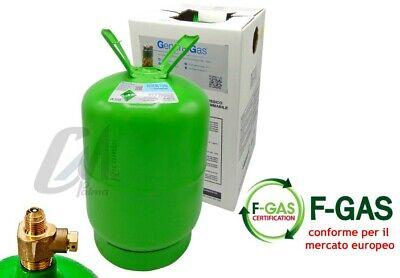 Bombola Gas Refrigerante Condizionatori R134A Da 12 / 2,5 / 0,9 Kg Conforme Eu 6
