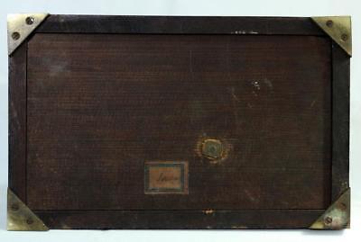 Antigüedad Caoba 8 Día Soporte Reloj Winterhalder & Hofmeier Schwarzenbach 5