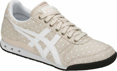 Womens Onitsuka Tiger Ultimate 81 Beige Canvas Retro Casual Trainers Shoes Size 4