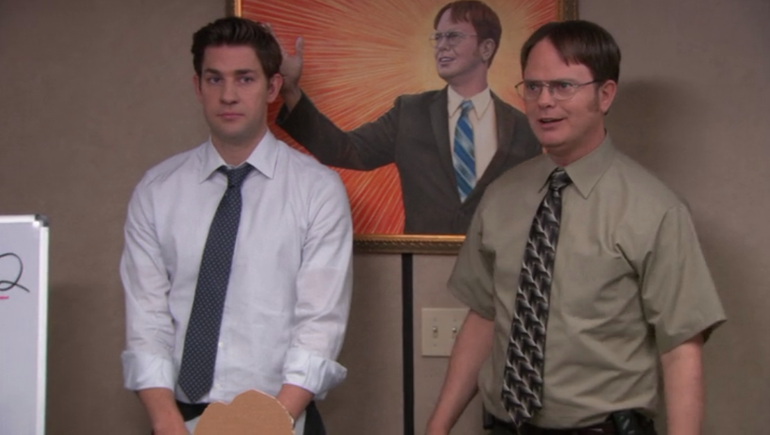 """The Office ( Dwight Schrute Painting) 11"""" x 14.5"""" Collector's Poster Print 5"""