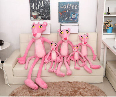 "90cm/35"" Pink Panther Stuffed Doll Kids Baby Animal  Soft Plush Toy Cushion Gift"
