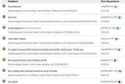 Softenergeeks Blue Line Electronic Meter Control Water Softener 11
