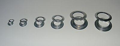 25mm 10mm Eisen-verzinkt 14mm 20mm 100 X Rundösen 36mm Ösen 40mm