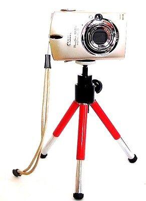 """Dark Gray//Silver 6.3/"""" Ignition 1601184 Mini Table Top Camera Tripod"""