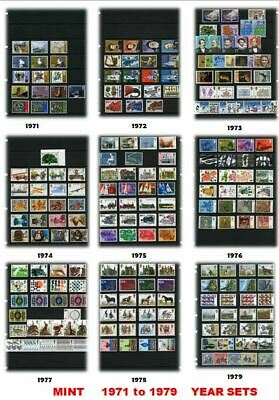 CHEAP MINT Commemorative Year Sets 1971 - 2013 - NEW Listing Sutherland-stamps 4