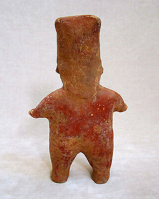 Pre-Columbian JALISCO STANDING FEMALE FIGURE, ca. 300 BC - AD 300 3