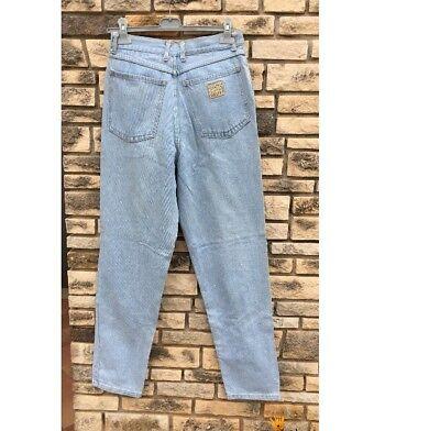 Jeans Vintage A Vita Alta Unisex Size 31/ Lavaggio Chiaro 4