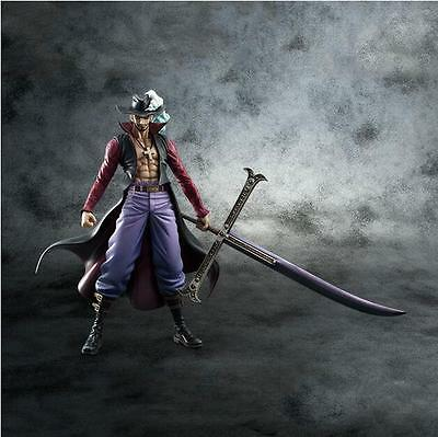 NEW Anime One Piece POP DX Dracule Mihawk Ver.2 PVC Figure Toy Gift  24cm WLZ